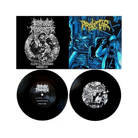ENTRAILS MASSACRE // PROLETAR - Split 7""