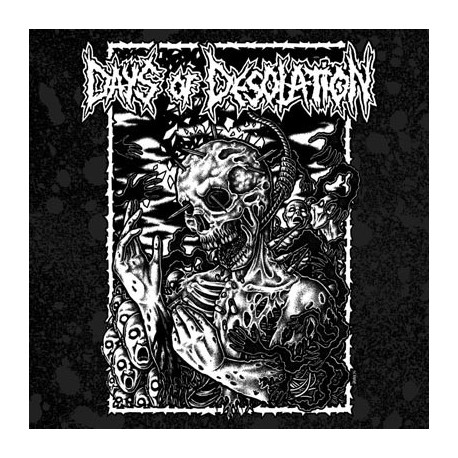 CONTROLLED EXISTENCE // DAYS OF DESOLATION - split 7""