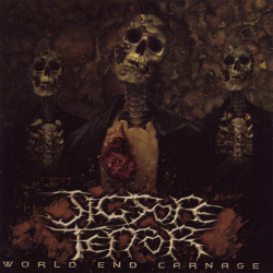 JIGSORE TERROR - World End Carnage - 12""