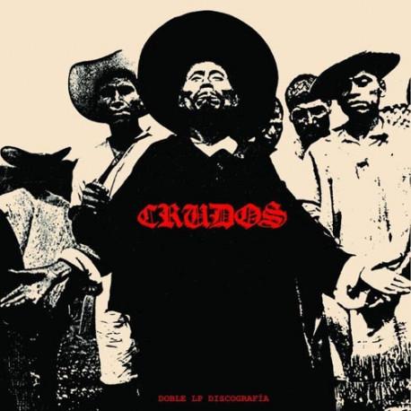 """LOS CRUDOS - Doble LP Discografía - 2x12"""""""