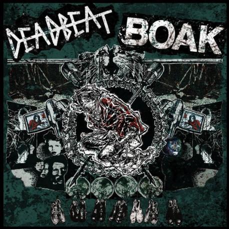 """BOAK // DEADBEAT - split 7"""""""