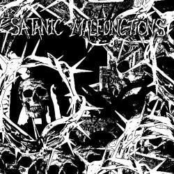 "SATANIC MALFUNCTIONS // FAMINE - split 7"""