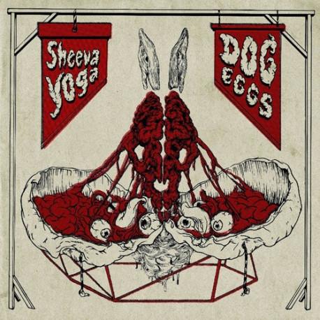 """SHEEVA YOGA // DOG EGGS - split 12"""""""