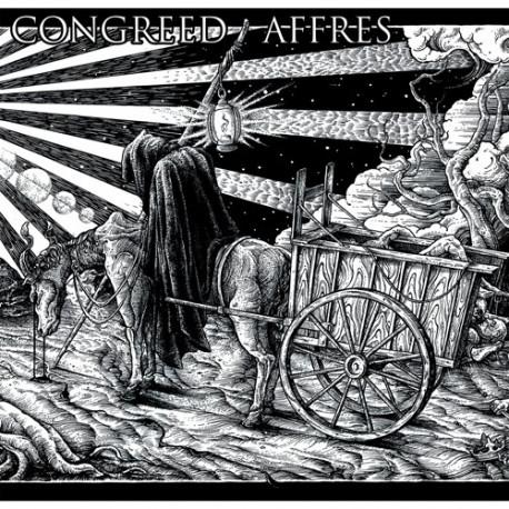 "CONGREED // AFFRES - Split 12""/LP"