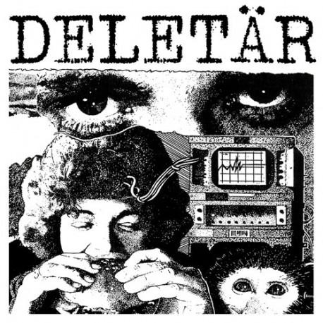 """DELETÄR - s/t - 7"""""""