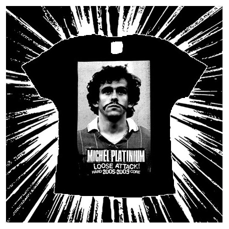 MICHEL PLATINIUM - Loose Attack 2005-2009 - Girlie tee-shirt