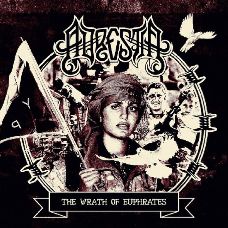 "ADRESTIA - The Wrath Of Euphrates - 12"""