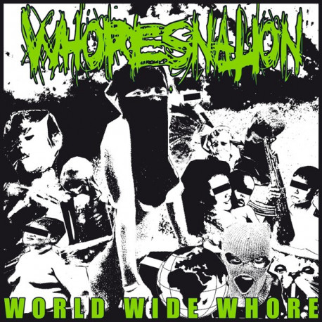 WHORESNATION - World wide whore 7""