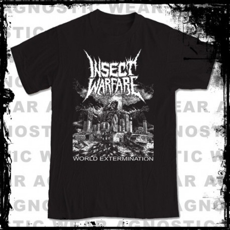 INSECT WARFARE - World Extermination tee-shirt