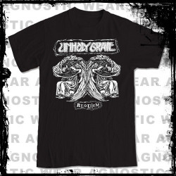 UNHOLY GRAVE - Requiem tee-shirt