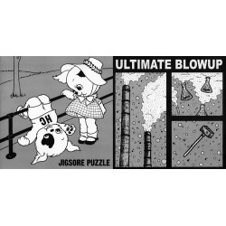 JIGSORE PUZZLE // ULTIMATE BLOWUP - split 7""