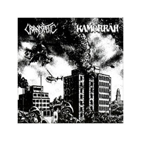 KAMORRÄH // CRANI SEPTIC Split 7""