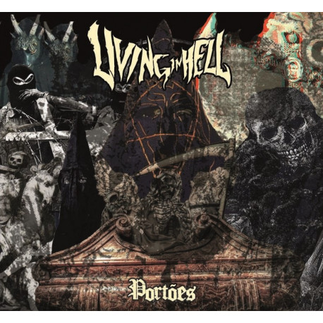 LIVING IN HELL - Portoes 7""