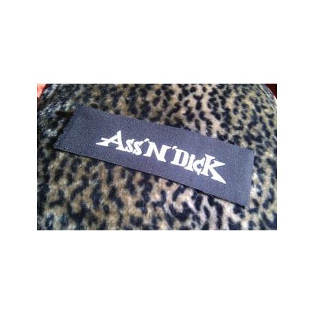 ASS'N'DICK (logo) - patch