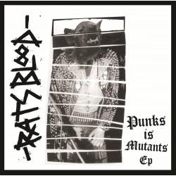 "RATS BLOOD - Punks is mutants 7"""