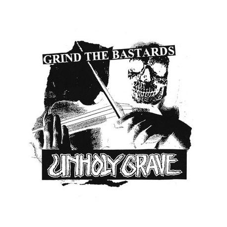 "UNHOLY GRAVE // NAK'AY - split 5"""