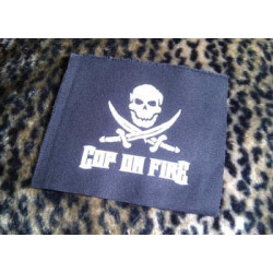 COP ON FIRE - patch