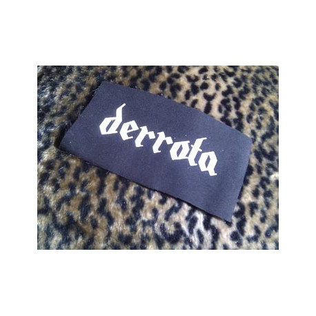 DERROTA - patch