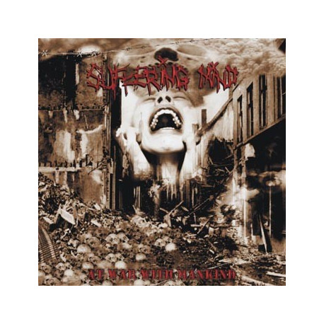 """SUFFERING MIND At war with mankind 10"""""""