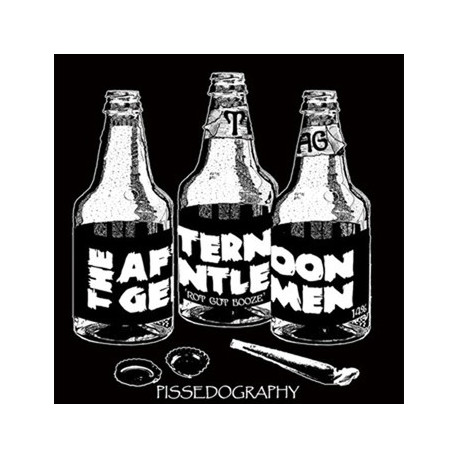 THE AFTERNOON GENTLEMEN - Pissedography 2008/2011 - 12""