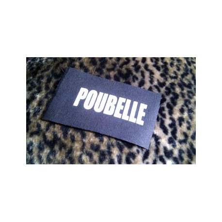POUBELLE - patch