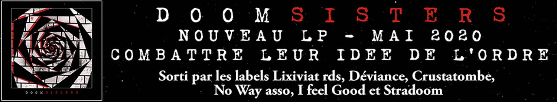 """DOOMSISTERS - Combattre leur idée de l'ordre - 12""""LP"""
