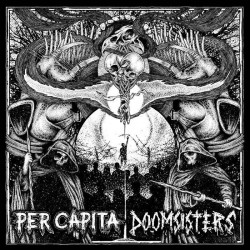 """DOOMSISTERS // PER CAPITA - split 7"""""""