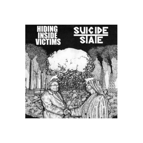 "HIDING INSIDE VICTIMS // SUICIDE STATE - split 7"""