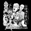 """GEWOON FUCKING RAGGEN // TRAVØLTA - split 7"""""""
