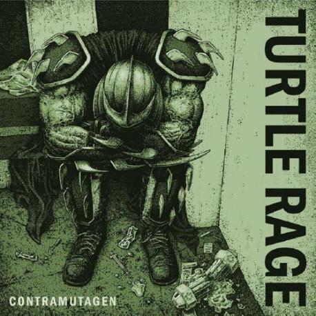 """TURTLE RAGE  - Contramutagen - 7"""""""
