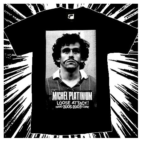 MICHEL PLATINIUM - Loose Attack 2005-2009 - Men tee-shirt