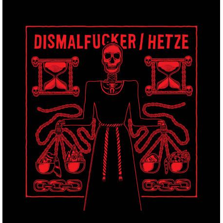 """HETZE // DISMALFUCKER - split 12""""LP"""