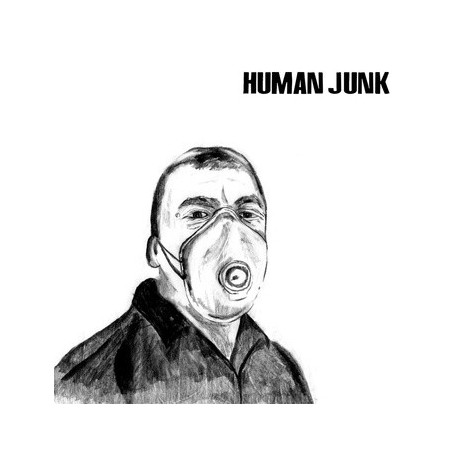 "HUMAN JUNK // GOD'S AMERICA - split 7"""