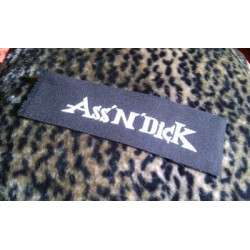 ASS'N'DICK (logo) - patch