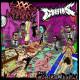 """COFFINS // XXX MANIAK - split 12"""""""