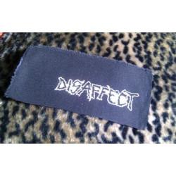 DISAFFECT (logo 2) - patch
