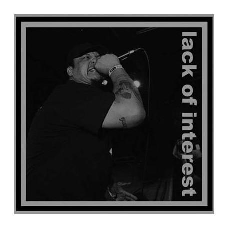 """BASTARD NOISE // LACK OF INTEREST - split 12"""""""