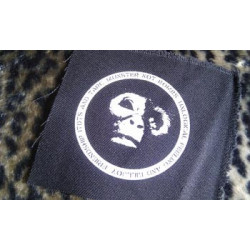 MUNSTER NOT BOMBS - patch