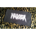 NAUSEA (logo) - patch