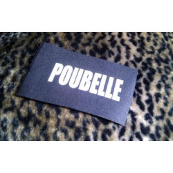 POUBELLE - patch